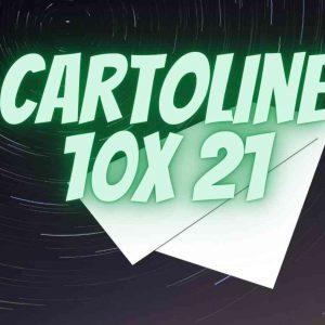 Cartolina 10 X 21