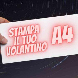 Stampa il tuo volantino A4